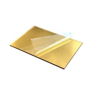 پلکسی گلاس طلایی 2 میلی متر